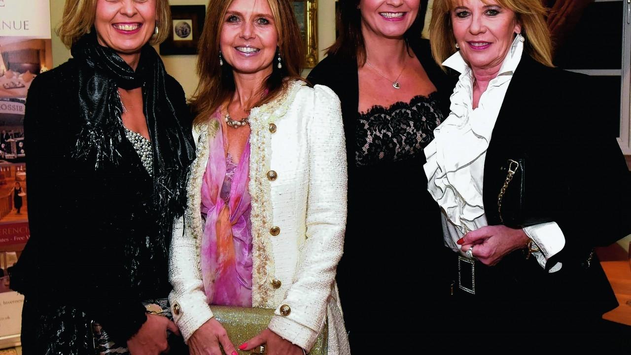 Helen Allan, Carol MacRae, Eva MacLachlin and Sue Robb.