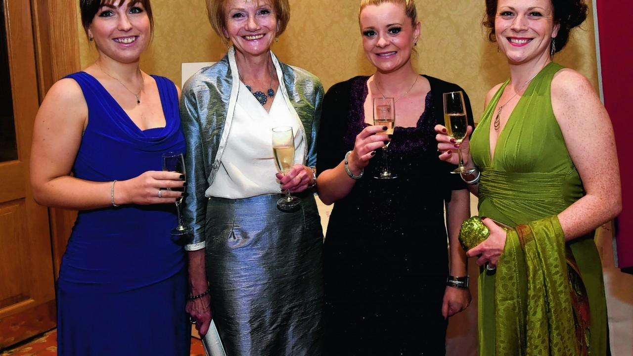 Kirsty MacDonald, Liz Reid, Carrie Wiseman and Fiona Purcell.