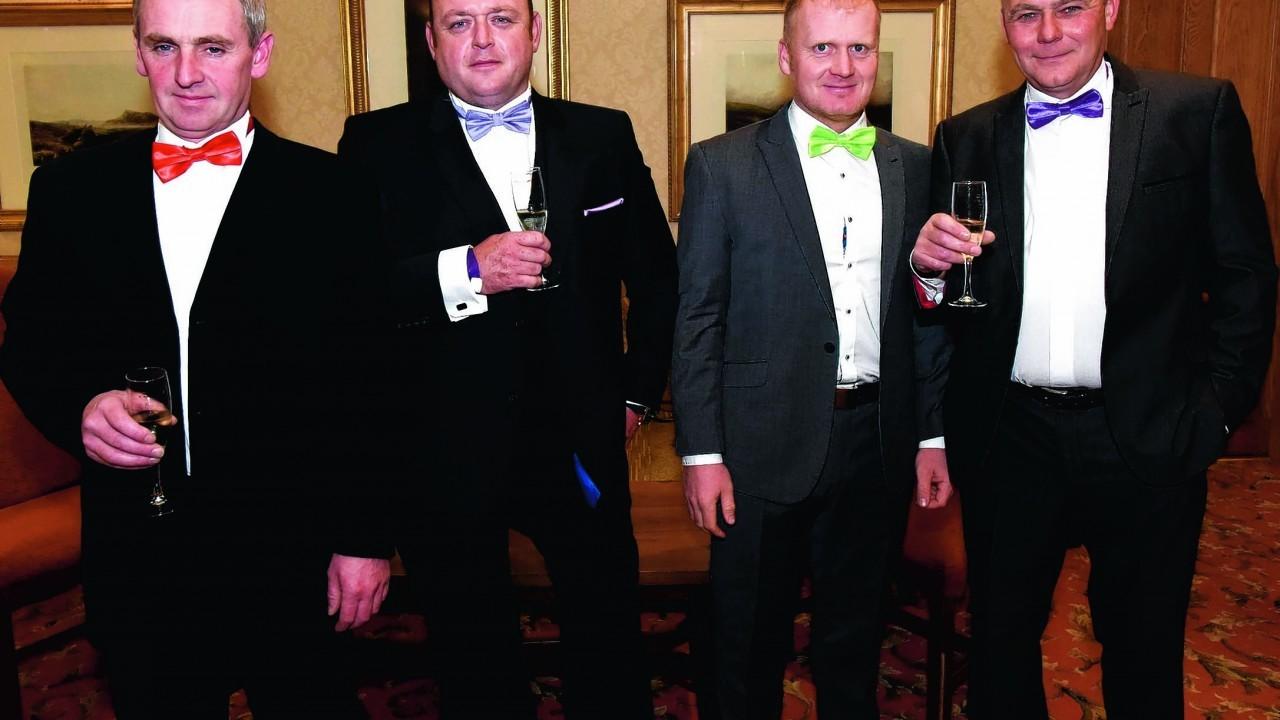 Paul MacIntosh, David Kyle, Michael MacRae and Gordon MacKenzie.