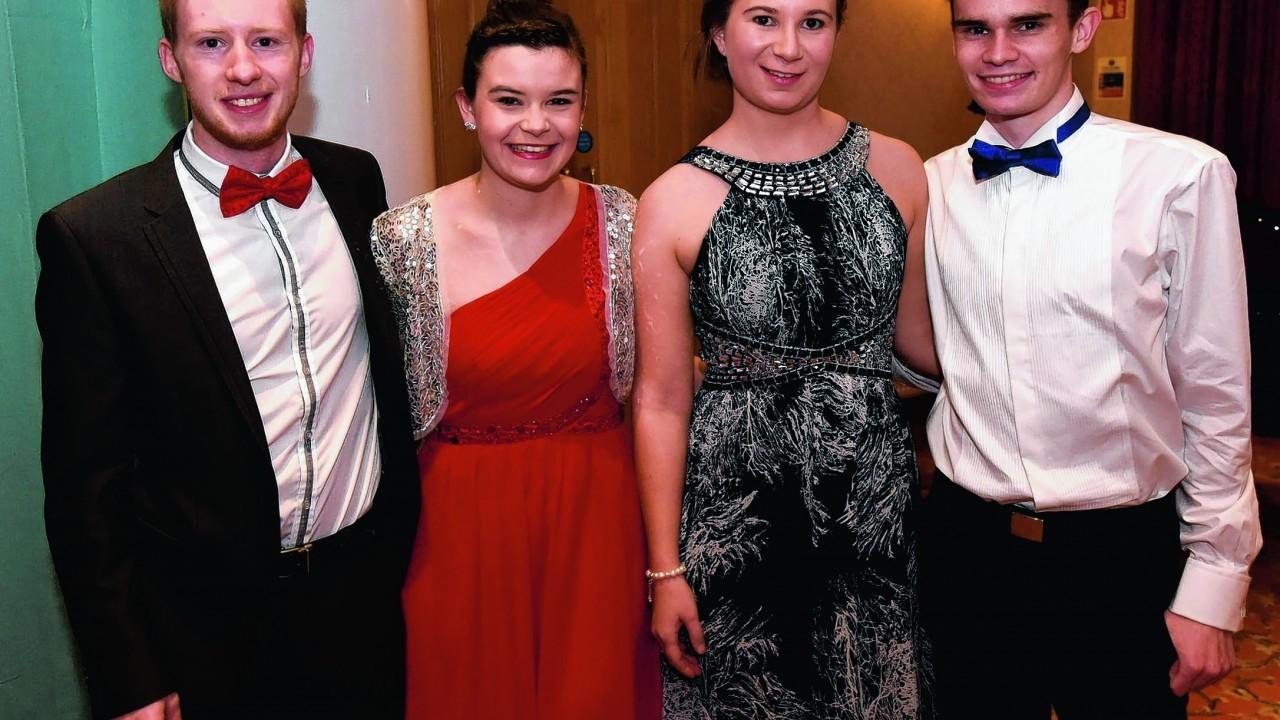 Stewart Laing, Katie Munro, Nicolla McBean and Neil Paton.