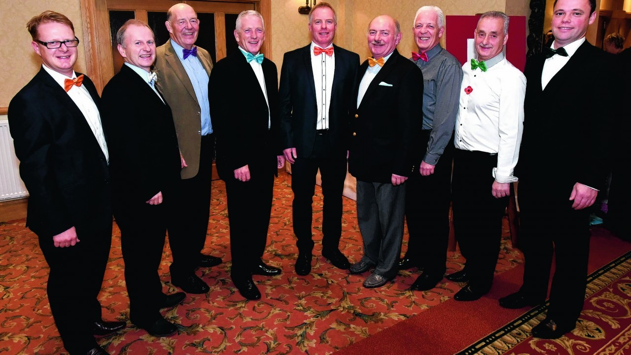 Chris MacRae, Ally Henry, Sheddie Carr, Brian Gilchrist, Jim Greenwood, Jim MacKenzie, Ally Smith, Don Sinclair and Alan Fraser.