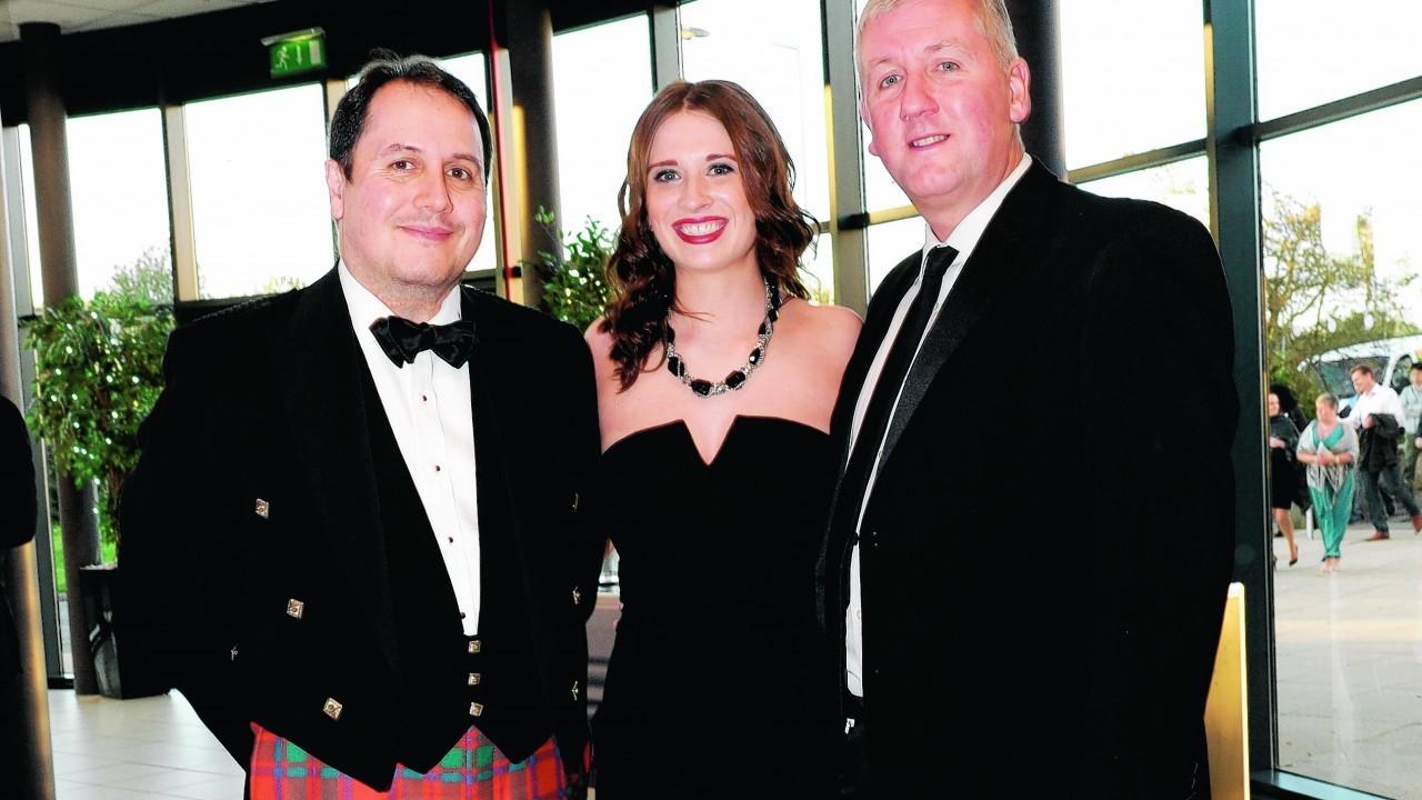 Andrew Page, Melissa Plain and Steve Kearney