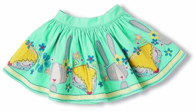 Rabbit applique skirt from Marks & Spencer