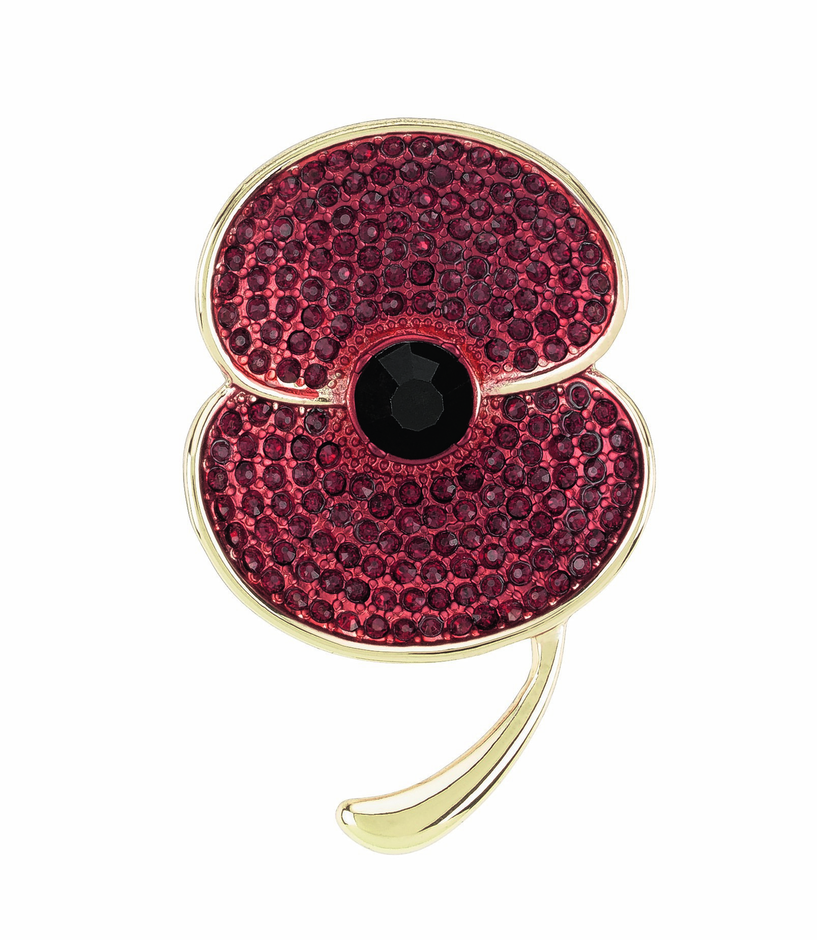 M&S COLLECTION LARGE POPPY BROOCH  £25SMALL POPPY BROOCH £15