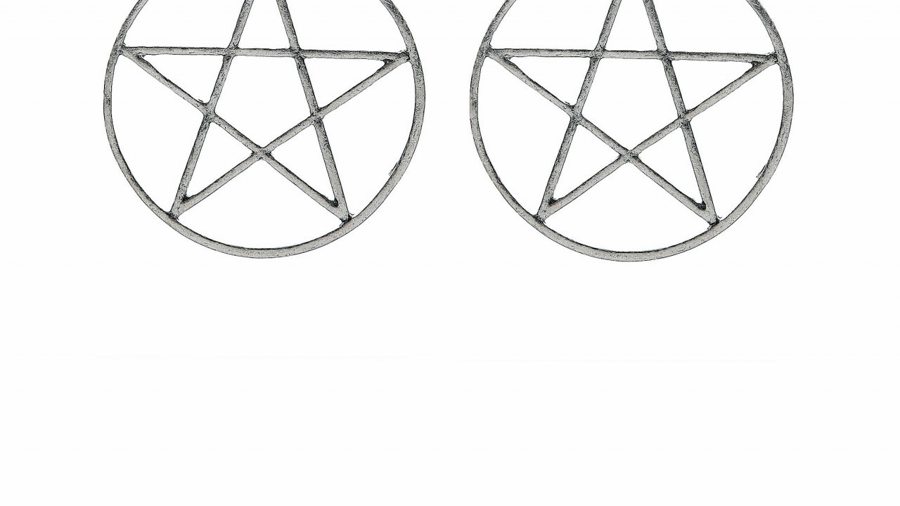 Silver star hoop earrings, £4.99, New Look, Bon Accord & St Nicholas, Aberdeen