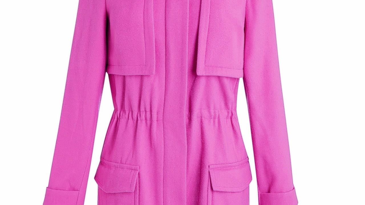 Red Herring at Debenhams pink parka, £75