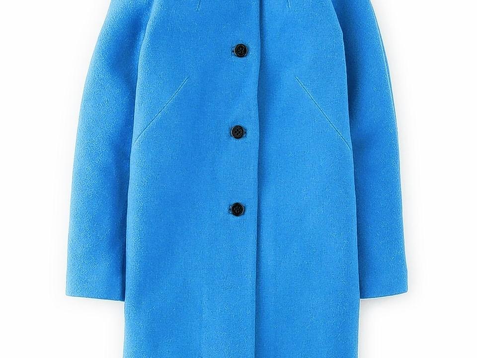Boden Ingrid cobalt blue coat, £179