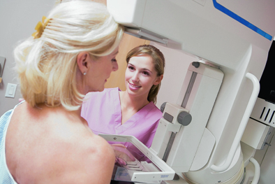Around 50,000 women and 400 men are diagnosed with breast cancer each year in the UK