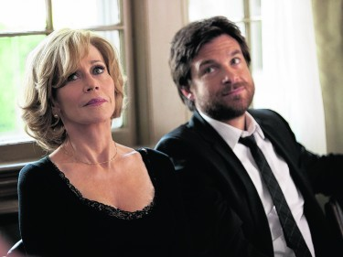 Jane Fonda as Hilary Altman and Jason Bateman as Judd Altman.