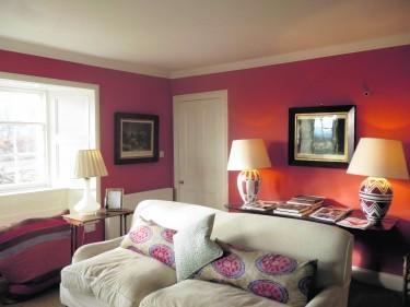 Glendelvine Estate  Wester Gourdie Dunkeld living room