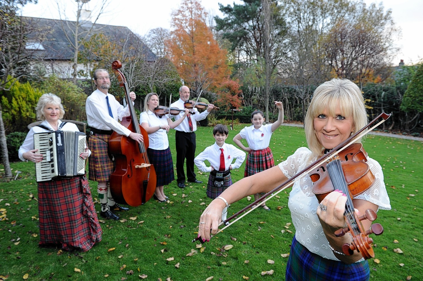 Some of the talented Aberdeen musicians
