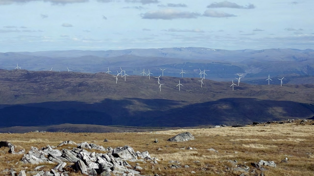 The Tories are long standing critics of windfarm proliferation.