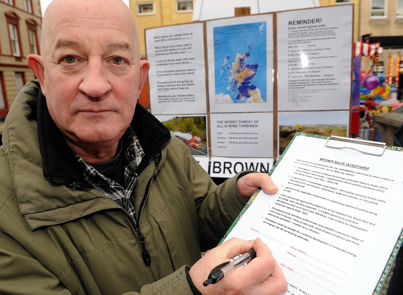 SNP members of local authority facing a backlash from protesters