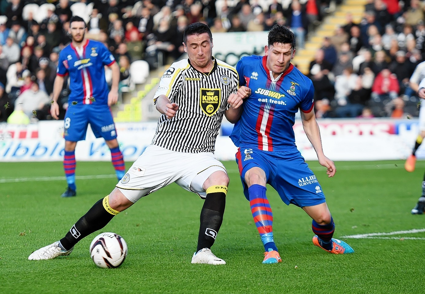 Josh Meekings has impressed at the heart of the Inverness defence