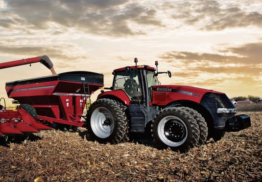 Case IH machinery in action