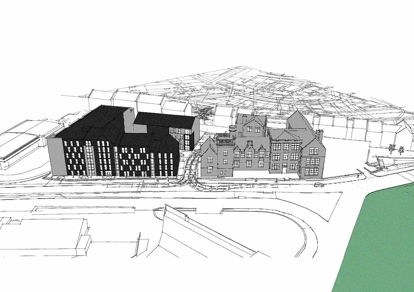 Detailed designs for Causewayend School