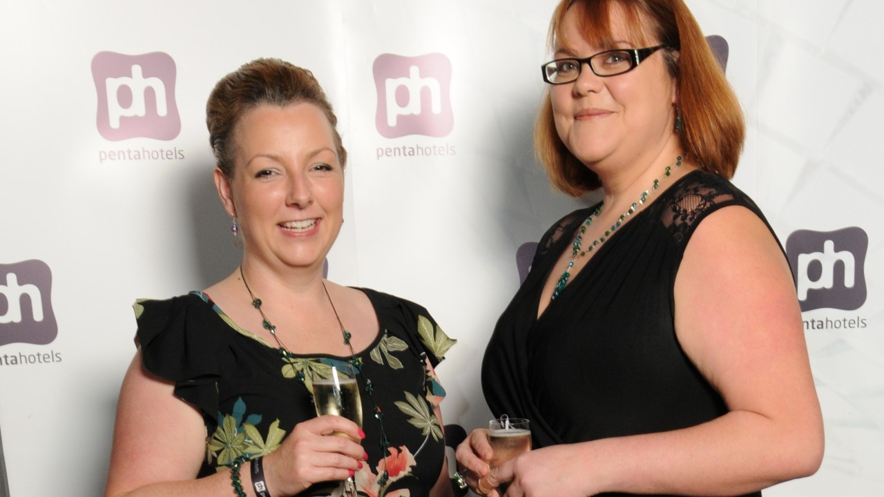 Claire Hamilton and Pauline Tuthill, both of Inverness College UHI