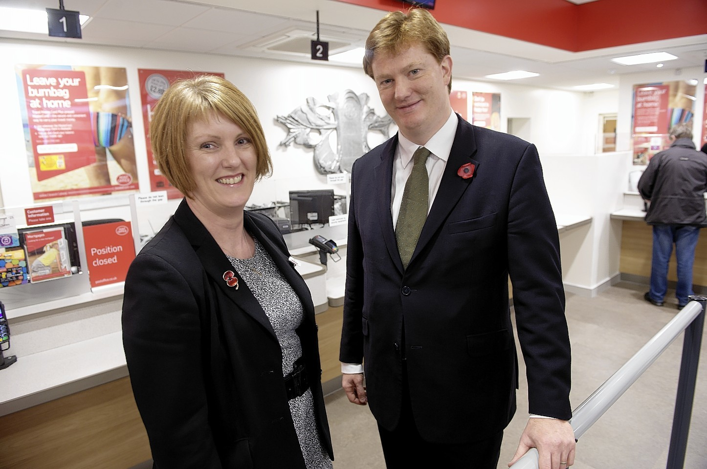Danny Alexander opened the Post Office