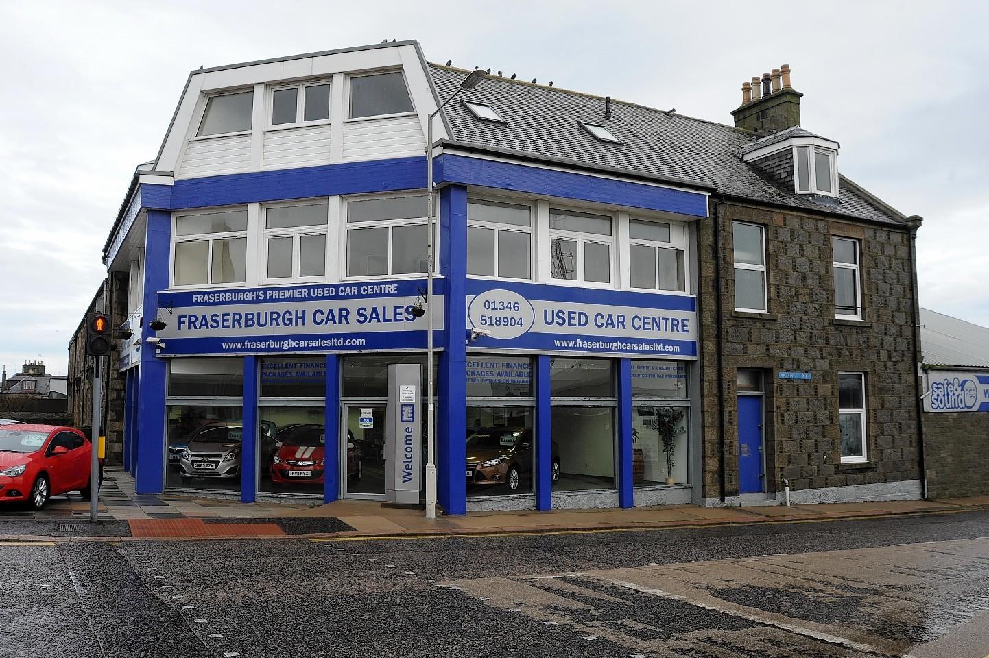 Fraserburgh Car Sales, Victoria Street