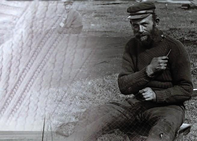 Gansey jackets were worn by fishermen