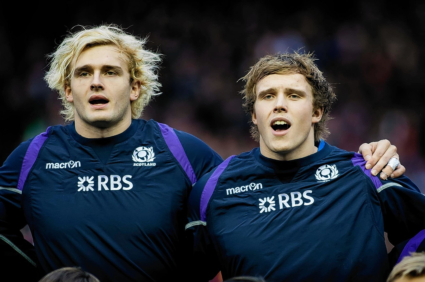 Richie and Jonny Gray