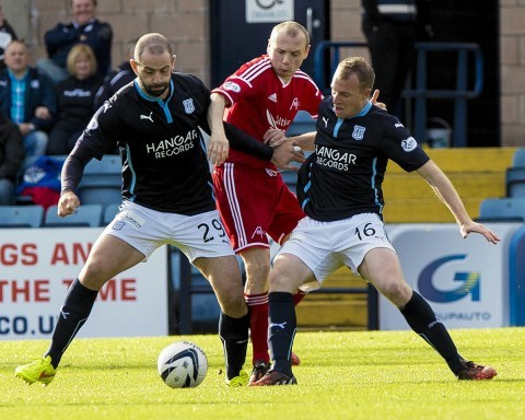 Willo Flood is one of a number of doubts for the Dons this afternoon