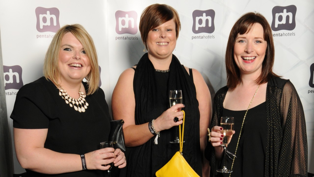 Louise Lockhart, Michelle Russell and Nicola McAlley