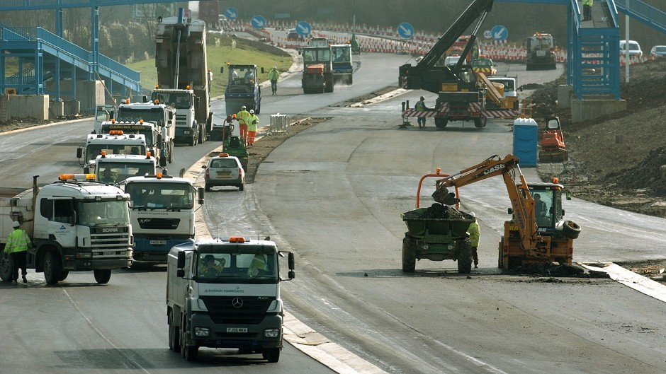 EEF said the Chancellor should announce measures to help investment, such as spending more on the road network