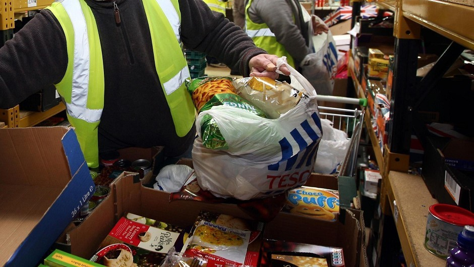 Nicola Sturgeon said austerity is to blame for a 400% increase in people using food banks.