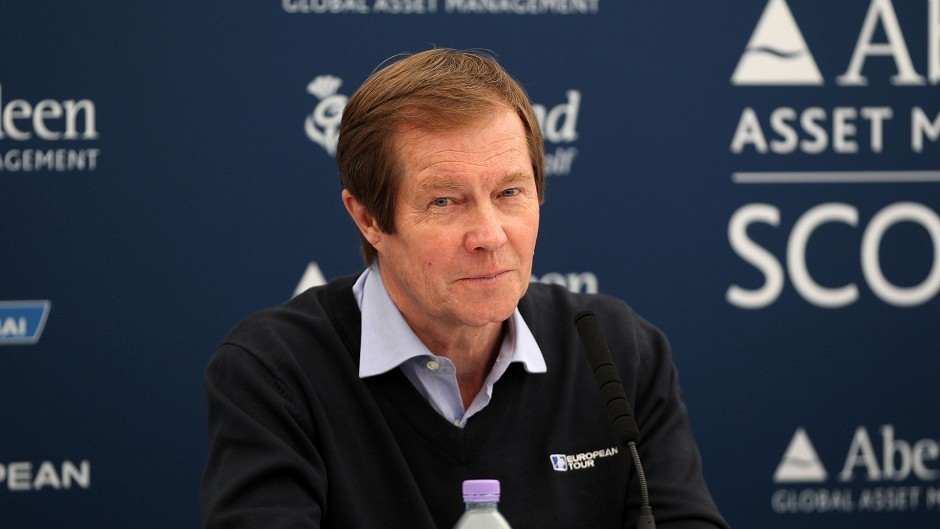 European Tour chief executive George O'Grady is standing down