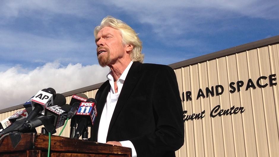 Virgin Galactic founder Richard Branson