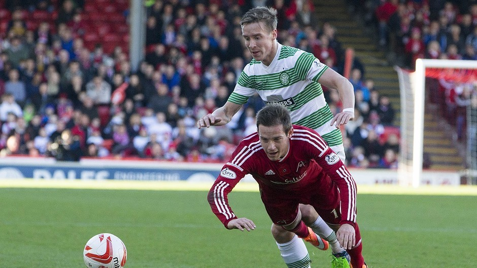 Celtic and Aberdeen meet this afternoon