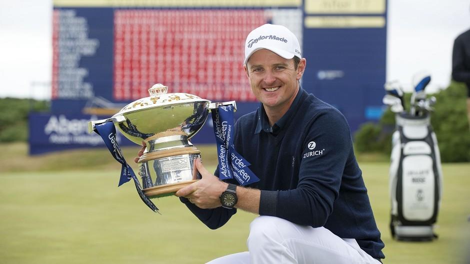 Justin Rose won last year's Scottish Open at Royal Aberdeen