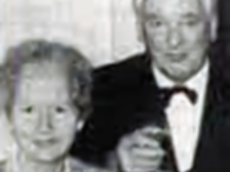 Pauline Pettefar with her brother Nei