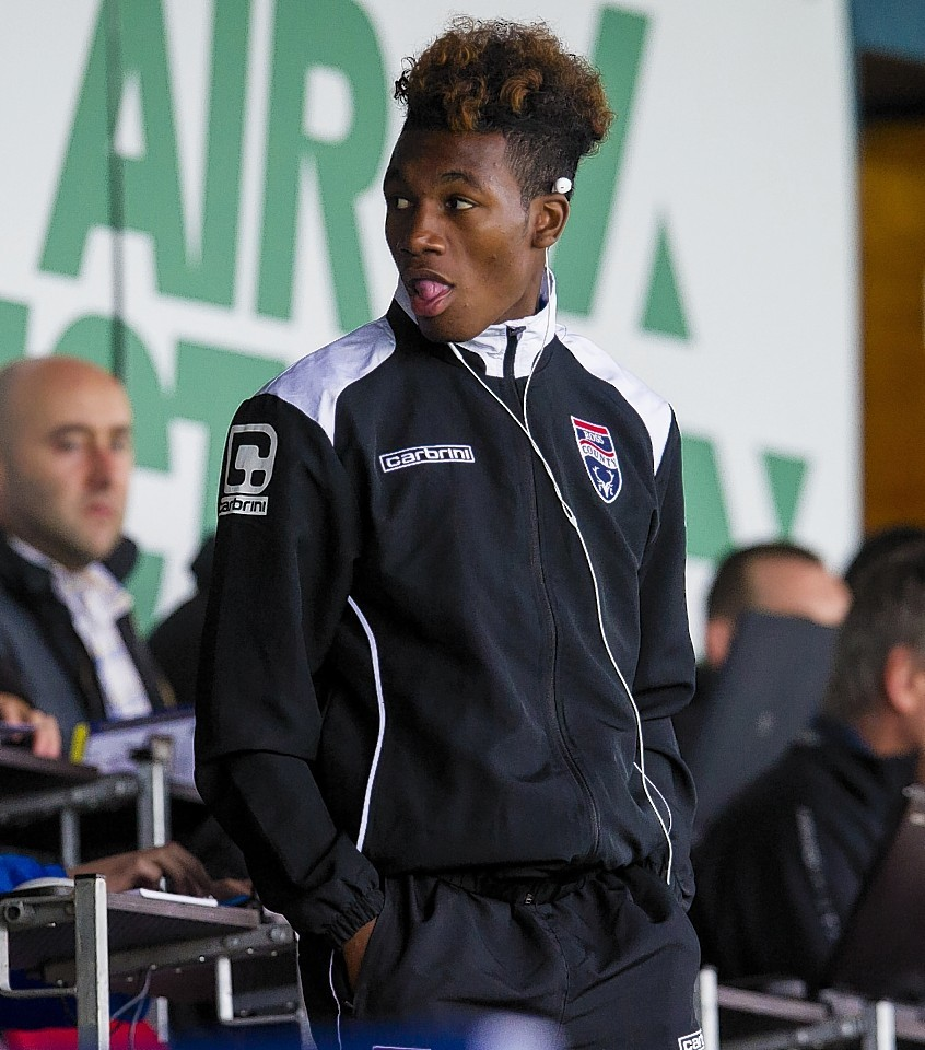 County youngster Rosario Latouchent has impressed Arquin