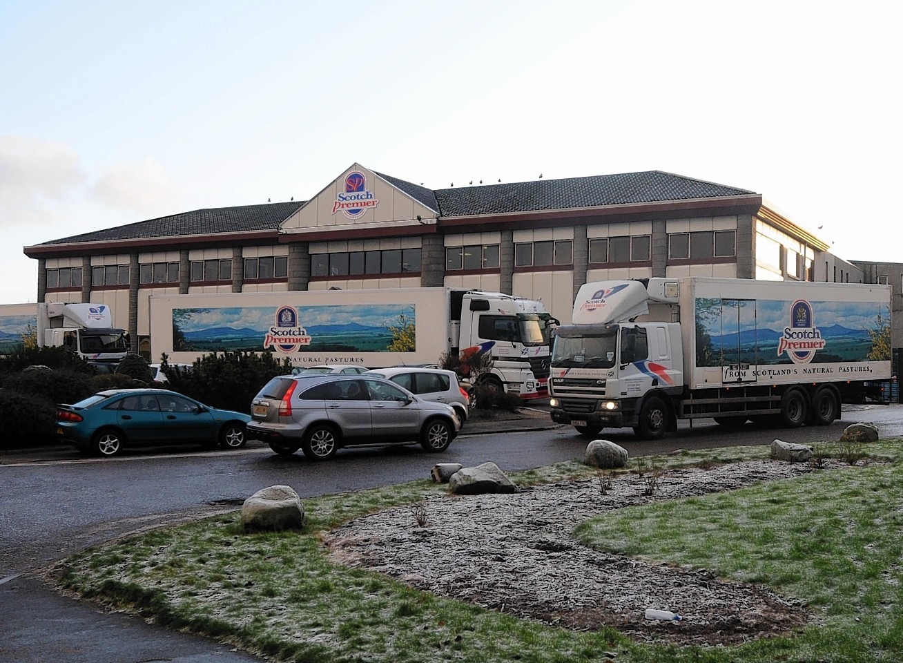 The Garioch area committee yesterday granted planning permission in principle to ANM Group Ltd's plans for the Scotch Premier Meat Ltd site on Inverurie's Old Chapel Road.