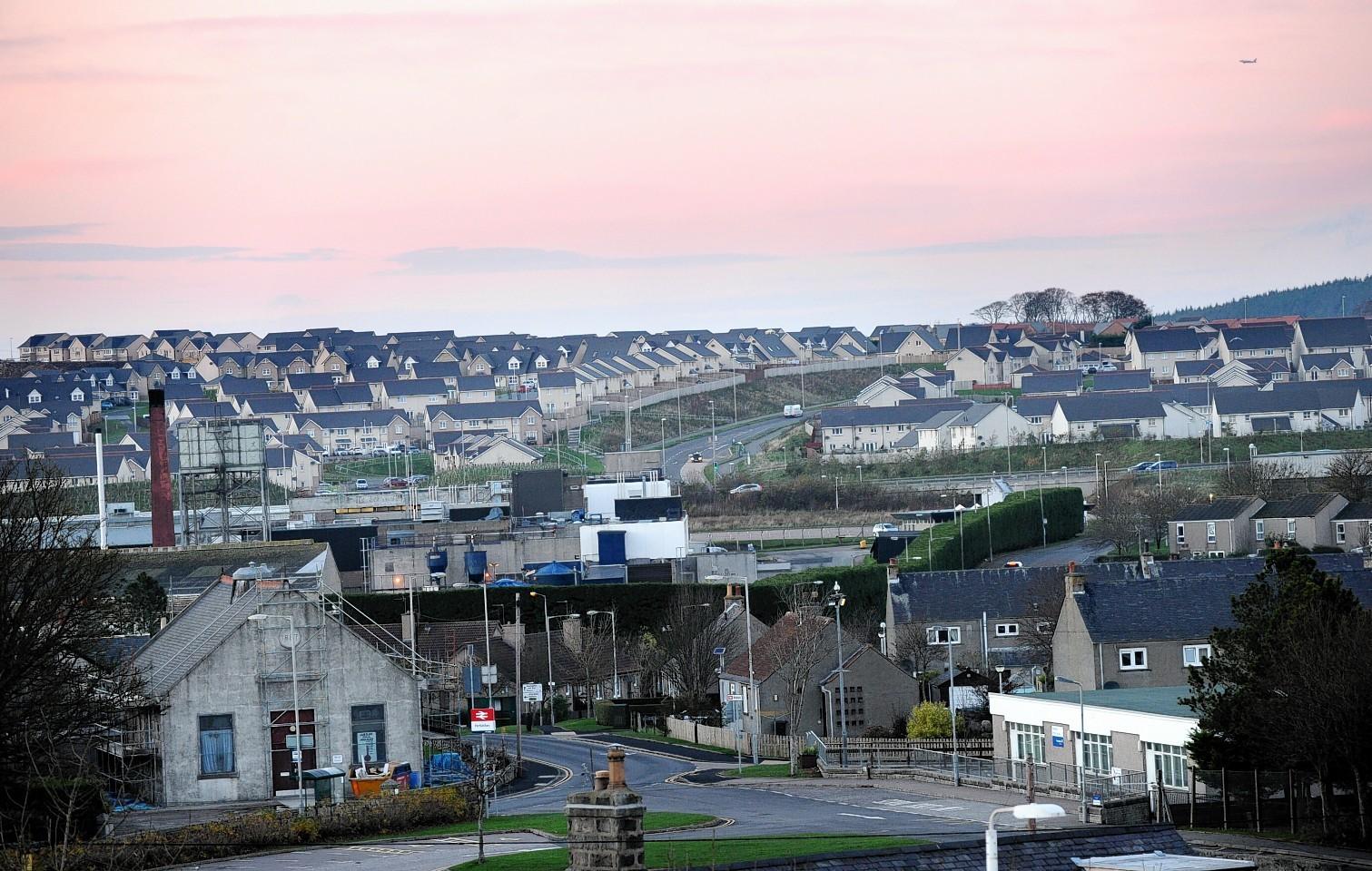 Stewart Milne housing at Portlethen