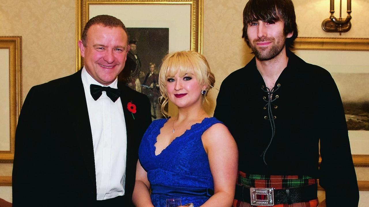 Councillor Drew Hendry, Diane Piddock & Nathaniel Wilson