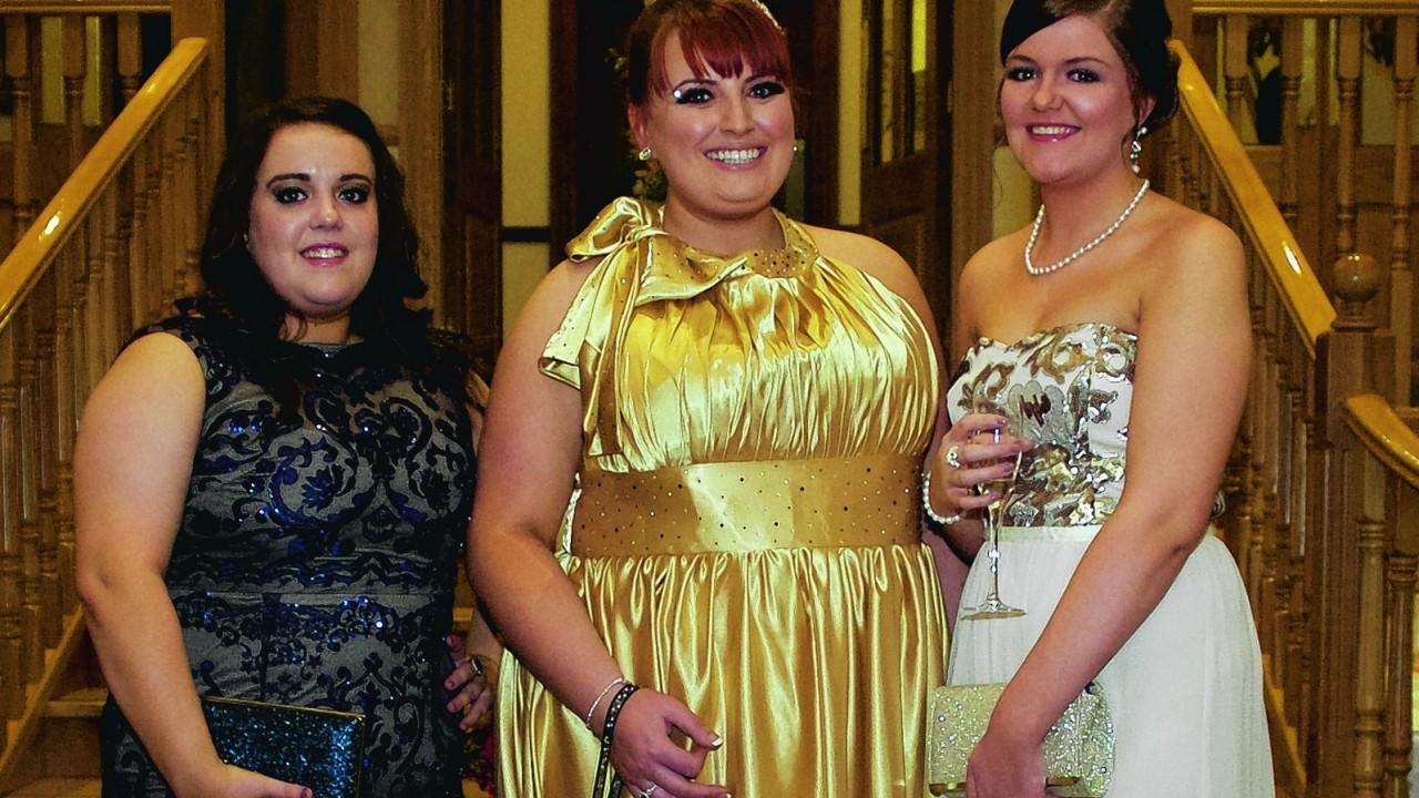 Kirsty Coghill, Kelly Irodenko & Eillish O'Connor.