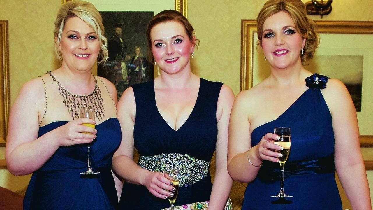 Barbra Low, Eilidh Walker & Frances May.