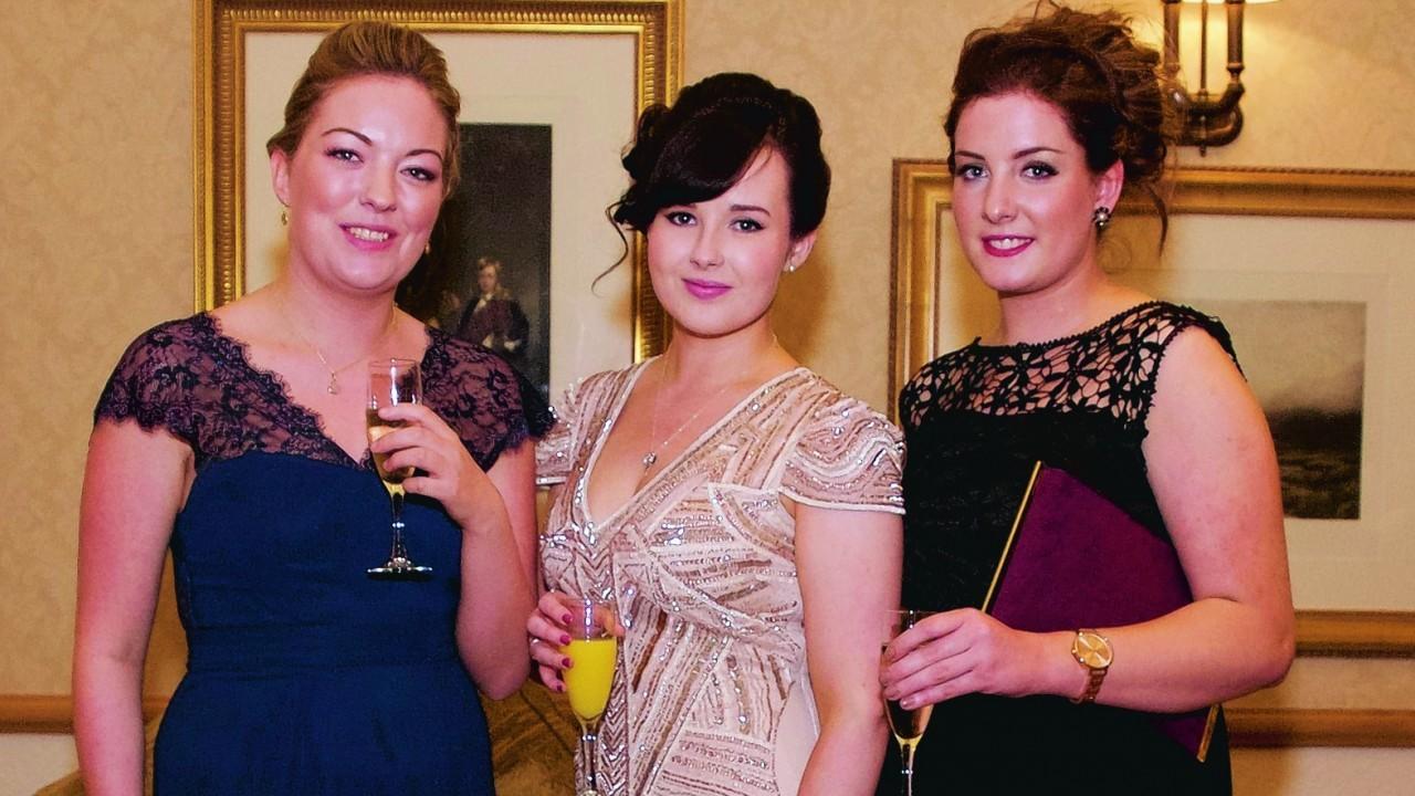 Rona MacEachen, Claire Dibden & Derri MacPhee.