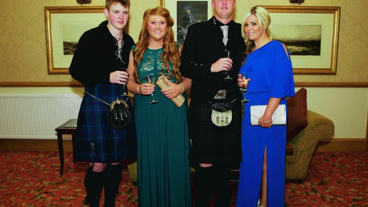Michael Barrow, Adele McDonald, Steven Willox &  Jill Willox.