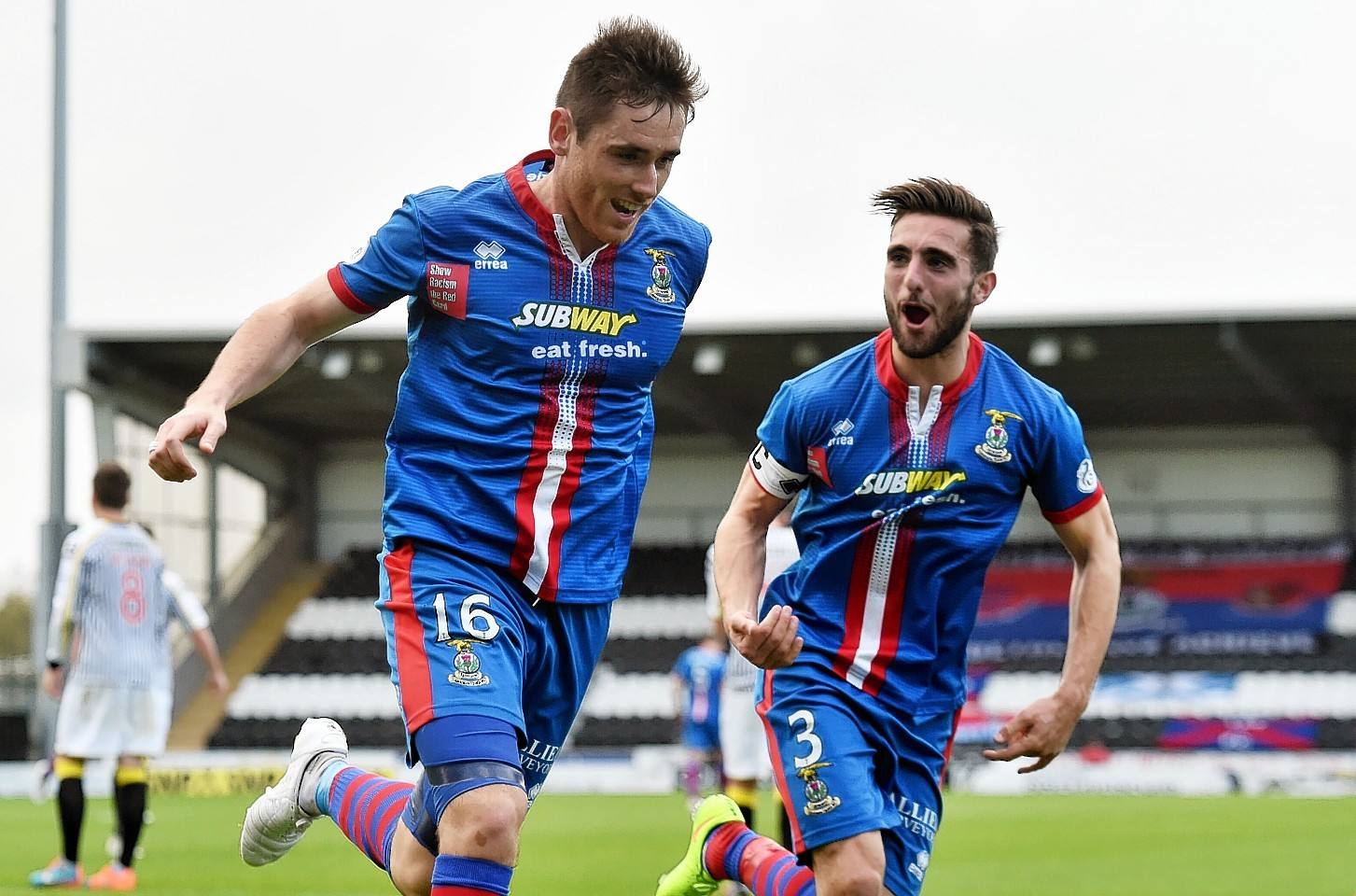 Graeme Shinnie and Greg Tansey played together at Inverness.