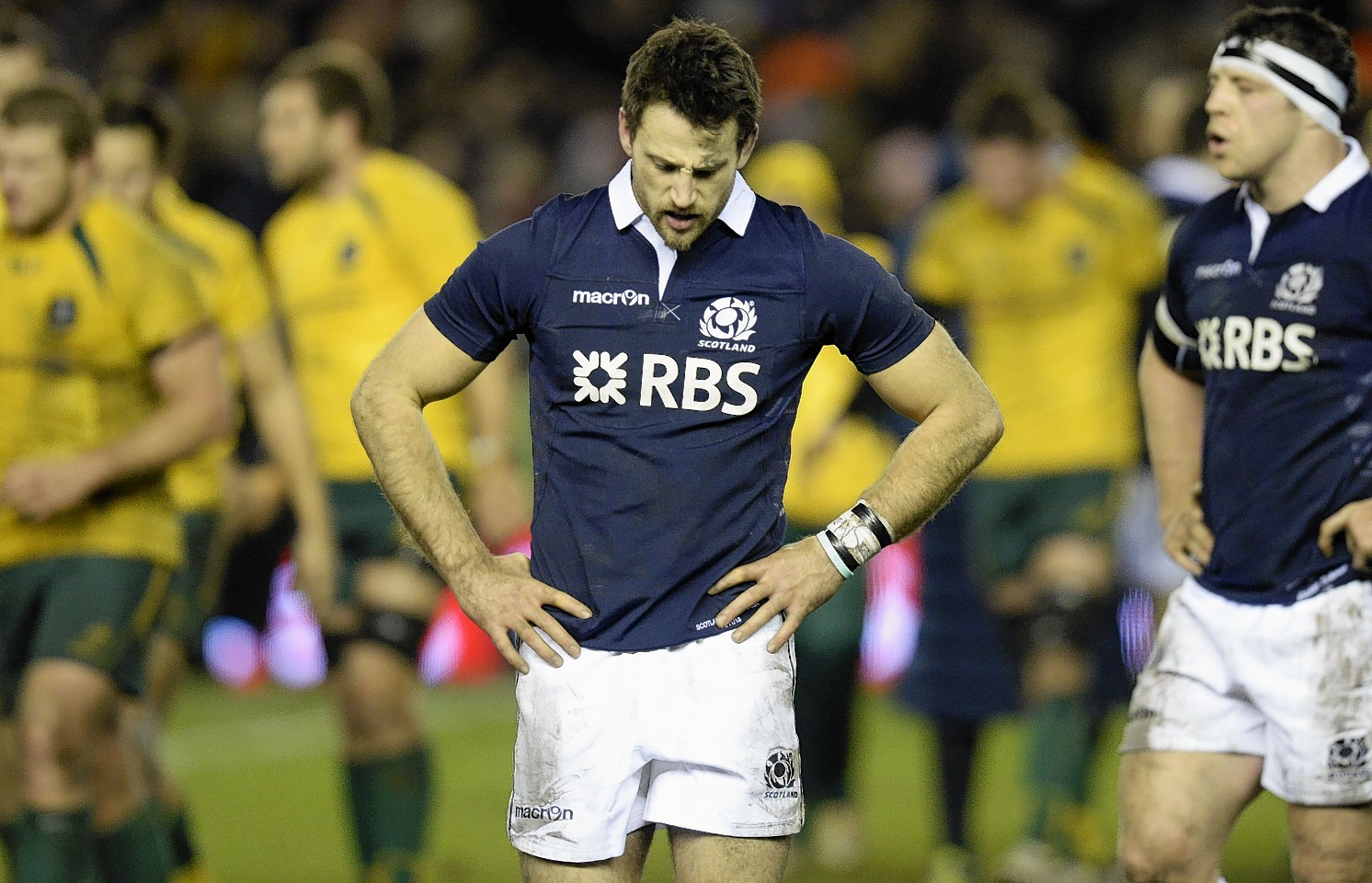 Seymour was left disappointed after playing Australia this time last year