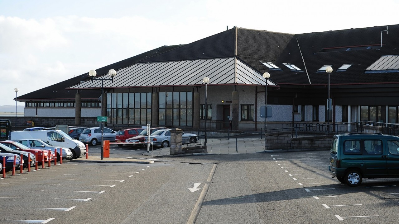 Western Isles Hospital in Stornoway