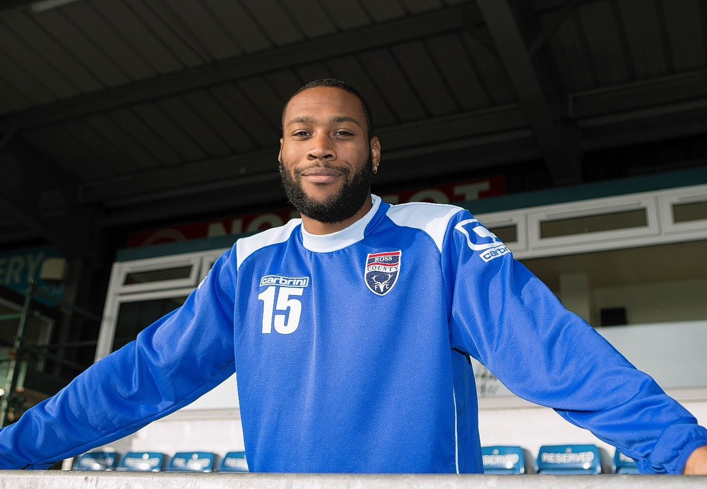 Yoann Arquin left County in January and has now joined St Mirren