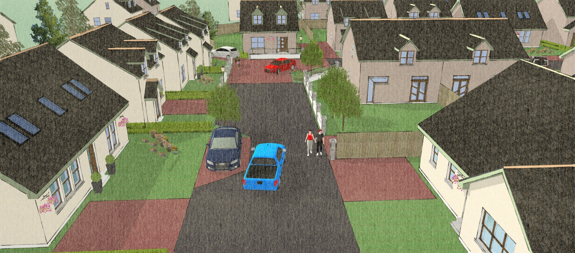 The new Kirkton development