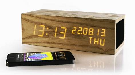 The Bluetooth Click Clock is stacked with features