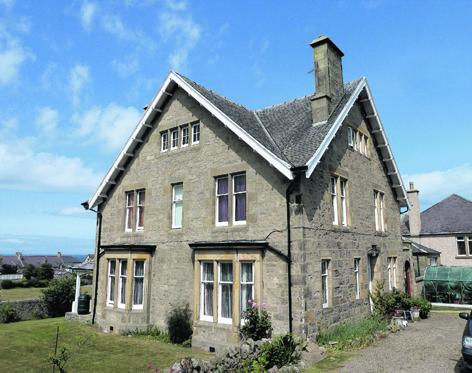 Lynnwood Lodge on Lossiemouth's James Street