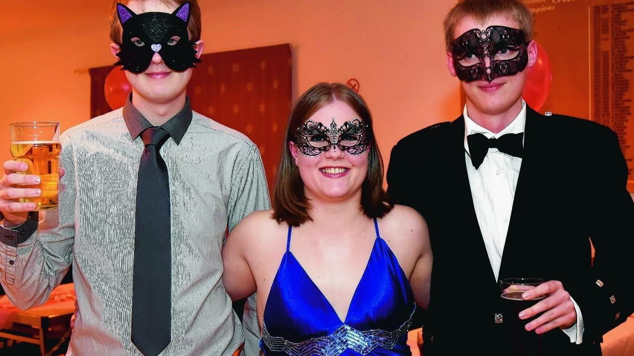 Graham Taylor-Walker, Charlotte Halley and Calum Cook.
